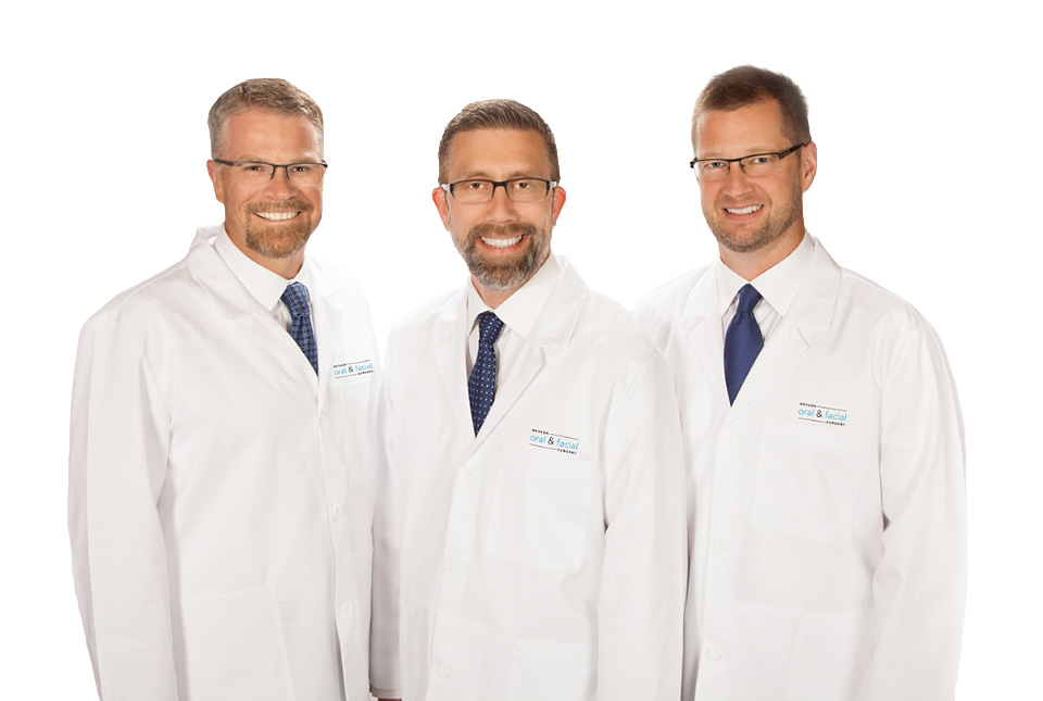 All three doctors at Nevada Facial and Oral Surgery
