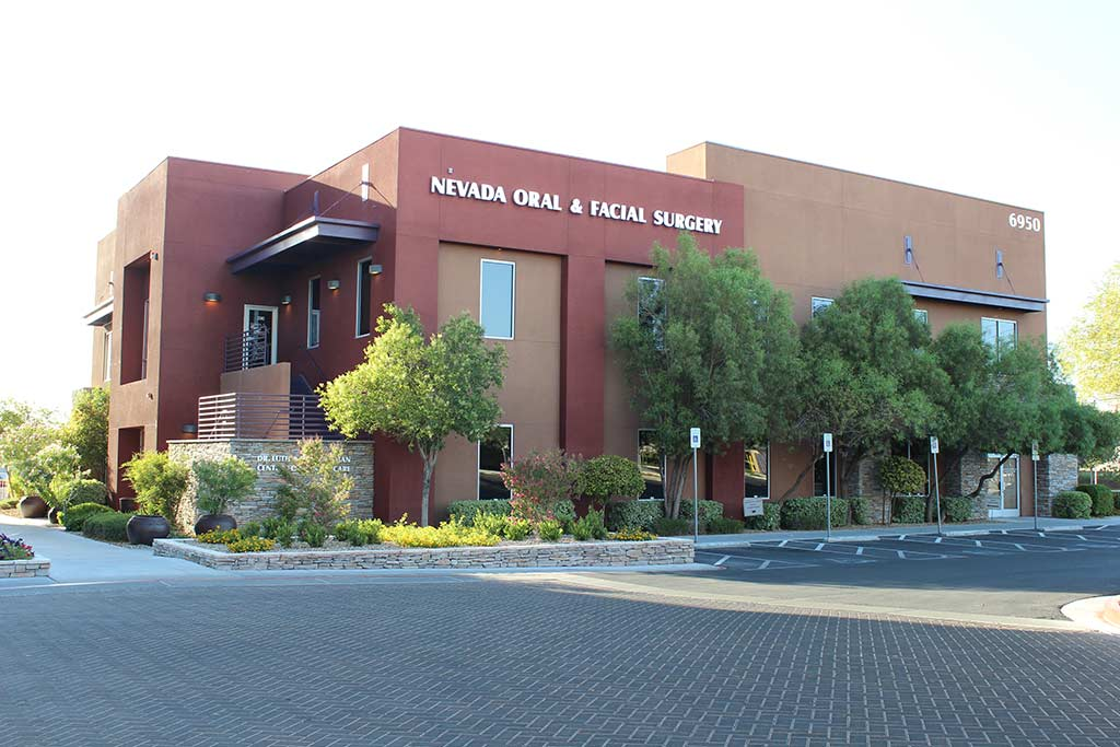 Las Vegas office building of Nevada Facial and Oral Surgery